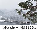 雪の渡月橋 44921231