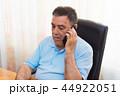 対話 話す 電話の写真 44922051