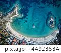 浜辺 海 ボートの写真 44923534