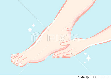 beauty woman foot care concept 44925525