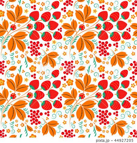Seamless pattern in russian folk style 44927205