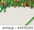 クリスマス リボン クリスマス飾りのイラスト 44930283