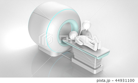 MRIと患者 44931100