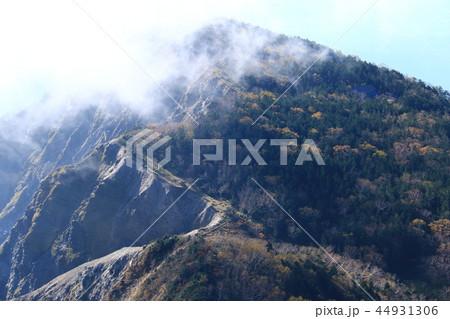 南アルプス塩見岳山頂への道 烏...
