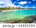 海 ダイヤモンドヘッド ビーチの写真 44932564