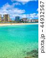 海 ダイヤモンドヘッド ビーチの写真 44932567
