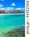 海 ダイヤモンドヘッド ビーチの写真 44932568