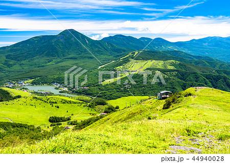 《長野県》車山高原・山頂の眺め 44940028