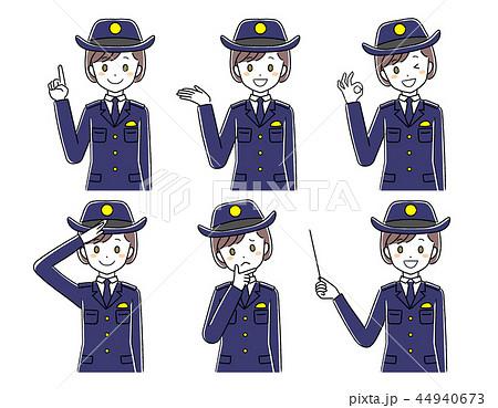 婦人警察官のイラストのイラスト素材 [44940673] - PIXTA