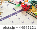 1月 カレンダー お正月 新年 44942121