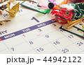 1月 カレンダー お正月 新年 44942122