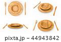 食器 ナイフ フォークのイラスト 44943842