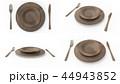食器 ナイフ フォークのイラスト 44943852