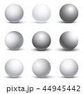 スフィア 球 球体のイラスト 44945442