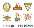 GOLF ゴルフ スポーツのイラスト 44946299