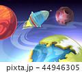 スペース 空間 宇宙のイラスト 44946305