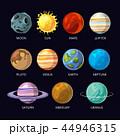 惑星 ソーラー 太陽のイラスト 44946315