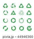リサイクル 未加工 生のイラスト 44946360