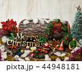 クリスマス メリークリスマス 飾りの写真 44948181