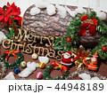 クリスマス メリークリスマス 飾りの写真 44948189