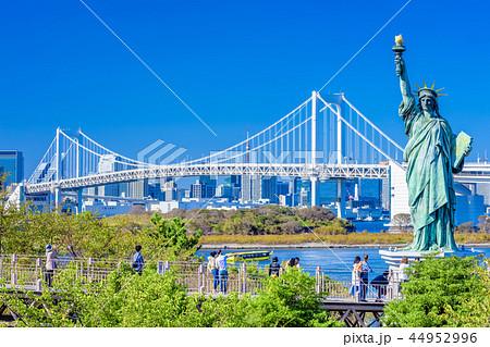 東京 お台場海浜公園の自由の女神像 44952996