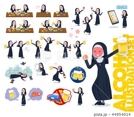 flat type Nun women_alcohol 44954014