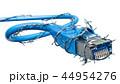LAN ケーブル 綱のイラスト 44954276