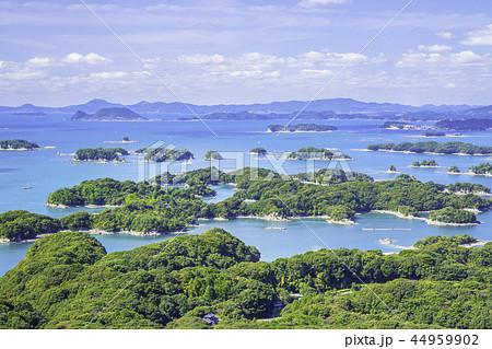 長崎の美しい九十九島(展海峰) 44959902