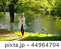 vintage adult girl summer tint / happy adult woman having fun and enjoys summer summertime girl 44964704