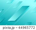青 青い ジオメトリックのイラスト 44965772