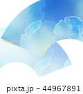 和柄 背景 青のイラスト 44967891