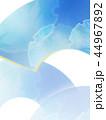 和柄 背景 青のイラスト 44967892