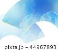 和柄 背景 青のイラスト 44967893
