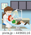 デンタル 歯科 男の子のイラスト 44968116