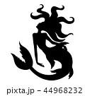 マーメイド マーメード 人魚のイラスト 44968232