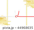 金箔 雲 和柄のイラスト 44968635