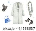 チェスターコート 服 セットのイラスト 44968637