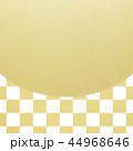 背景 金箔 和柄のイラスト 44968646