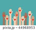グループ 集団 手のイラスト 44968953