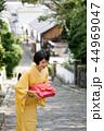 女性 着物 挨拶の写真 44969047