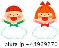 雲に乗った子供 44969270