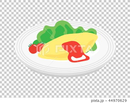 Omelette 44970629