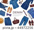 服 衣類 衣料品のイラスト 44972256