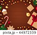 グリーティング クリスマス デザインのイラスト 44972339