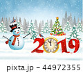 2019 クリスマス ゆきのイラスト 44972355