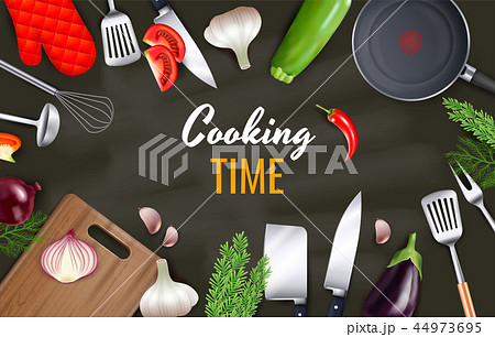 Cooking Time Background 44973695