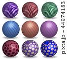 立体 3D 3Dのイラスト 44974183