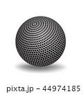 球 立体 3Dのイラスト 44974185