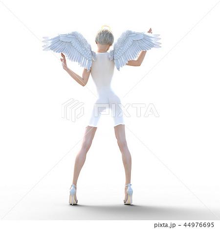 リアルな天使 perming3DCG イラスト素材 44976695