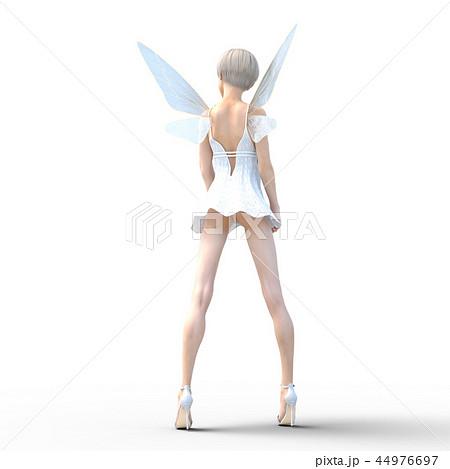 リアルな天使 perming3DCG イラスト素材 44976697